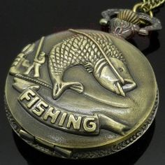 Bronze Fishing Angling Quartz Pocket Watch Necklace Pendant Mens Gift P108 - http://www.aliexpress.com/item/Bronze-Fishing-Angling-Quartz-Pocket-Watch-Necklace-Pendant-Mens-Gift-P108/2014747685.html