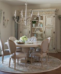 Lasting french country dining room furniture & decor ideas (31)