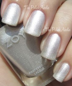 Zoya Ginessa... another chic choice for holiday #nails