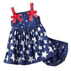 Jessica Ann Star Sundress - Getting Bean this for the 4th!