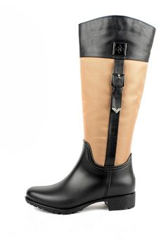 Preppy chic. Traditional riding style boot, Coventry is an equestrian classic. Splash resistant nylon upper is soft and easily folds for travel. Boot is lined with luxe fleece that keeps your feet warm and dry. Memory foam inserts add extra cushioning for extended wear. Side zipper provides easy entry and all day comfort. Coventry Rainboot by Dav. Shoes - Boots - Rain and Cold Weather Roanoke, Virginia Virginia