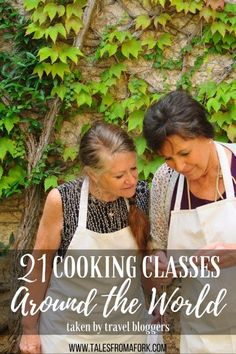 21 travel bloggers came together to share their favorite cooking classes from their trip abroad. Click through to these cooking classes around the world.