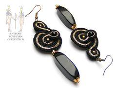 Sutasz-Anka: Osiris - earrings http://www.soutage.com/2012/12/osiris-kolczyki.html