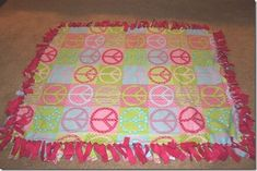 ec9db0da99 25 DIY Christmas Gifts Kids Can Make (That Are Actually Useful). No Sew  Fleece Tie Blanket ...