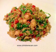 Spicy Coconut Curried Quinoa (Vegan)