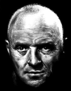 Anthony Hopkins - Pencil Sketch