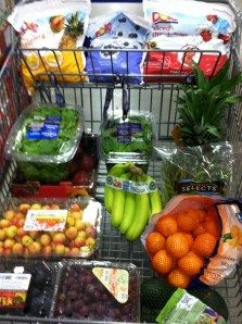 How YOUR grocery cart should look: Eat to Live!