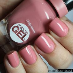 Sally Hansen Miracle Gel Royal Splendor Collection: Swatches & Review • Casual Contrast