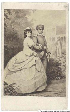 Empress Elisabeth(Sissi)and her brother Carl-Theodor duke in Vintage Postcards, Vintage Photos, Austria, Empress Sissi, Kaiser Franz, Elisabeth 1, Historical Clothing, Old Pictures, Joseph