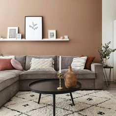 Living Room Paint, My Living Room, Living Area, House Color Schemes, House Colors, Room Inspiration, Interior Inspiration, Home Renovation, New Homes
