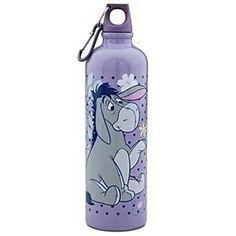 Eeyore Products | Eeyore Aluminum Water Bottle 302602P Eeyore Quotes, Bff Quotes, Friend Quotes, Pooh Bear, Tigger, Disney Water Bottle, Eeyore Pictures, 100 Acre Wood, Disney Cups