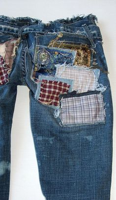 Latest Patched Jeans Trend for Men and Women