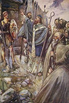 St. Columba  or Colm Cille - Apostle of the Picts 521-597 - Brought Christianity to Scotland