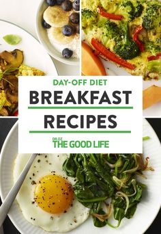 3 Energizing Breakfast Recipes From Dr. Oz's Day-Off Diet