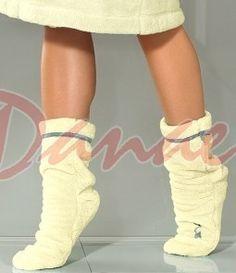 Huňaté ponožky k županom - L&L