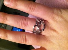 Lia Sophia ring! Compliments of my mother!