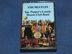 Beatles SGT PEPPER'S LONELY HEARTS CLUB ~Orig NM Capitol Cassette meet,road,tour - http://music.goshoppins.com/cassettes/beatles-sgt-peppers-lonely-hearts-club-orig-nm-capitol-cassette-meetroadtour/