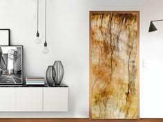 Designfolie Unterholz für dein Tür Groß außen (86 x 198,5 cm) Türen