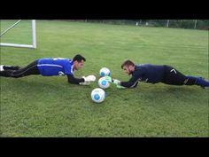 When you participate in soccer training, you will find that you are introduced to many different types of methods of play. One of the most important aspects of your soccer training regime is learning the basics of kicking the soccer b Soccer Pro, Soccer Goalie, Soccer Coaching, Goalkeeper Drills, Goalkeeper Training, Soccer Practice Drills, Football Training Drills, Youtube Soccer, Soccer Workouts