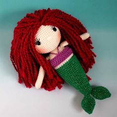 Free Mermaid Crochet Pattern - The Friendly Red Fox