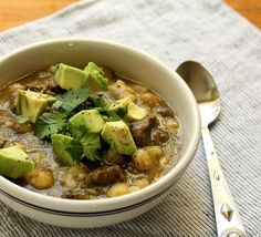 ... Chicken Posole is big on Mexican flavors! #slowcooker #mexican #soup