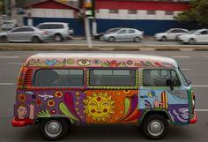 Long, #strange trip ending for #VW's hippie van - Economy news ~Peace and #Love~ #RockOn! #Acid?