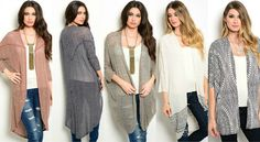 Comfortable and Stylish Cardigans for Women Cheap Cardigans, Cardigans For Women, Cover Up, Stylish, Clothes, Collection, Dresses, Design, Fashion