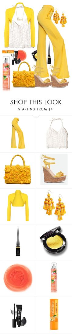 """Go West the Rush is On ⛏"" by klm62 ❤ liked on Polyvore featuring Balmain, Hollister Co., JustFab, WearAll, Kate Spade, Christian Louboutin and Sydney Evan"