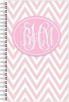 Monogrammed Stationary Gift Set Pink or blue by GinsMonogramShoppe, $27.00