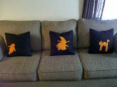 My halloween throw pillow covers -ttob