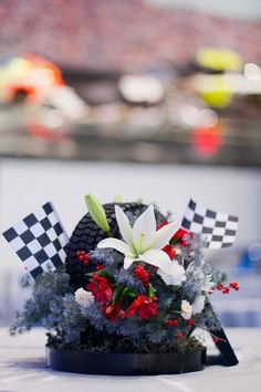 Lily Greenthumb's Floral Artistry: NASCAR Hall of Fame