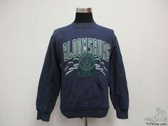 Vtg 90s Jansport Bloomsburg University Huskies Crewneck Sweatshirt sz M Medium #Jansport #BloomsburgHuskies