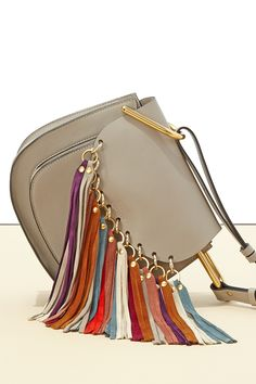 Chase the rainbow this spring rocking this gorgeous #Chloe bag #SaksStyle