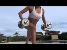 Fitness workout - burn fat fast (in spanish with English subtitles)
