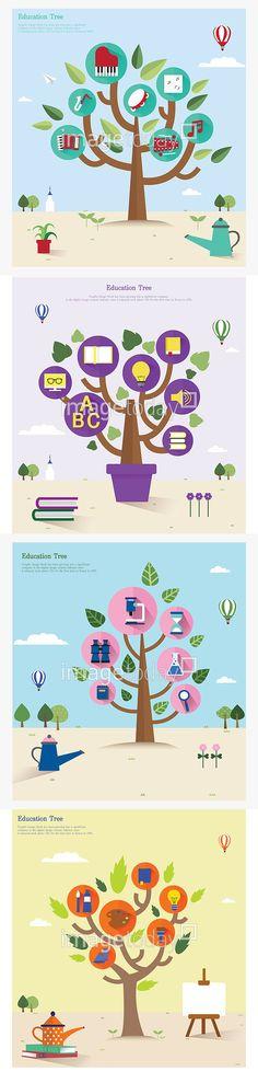 일러스트 교육 그린 나무 물감 물뿌리개 미술 붓 아이디어 아이콘 엘리먼트 원형 이젤 전구 책 컨셉 팔레트 플랫디자인 학습 illust…