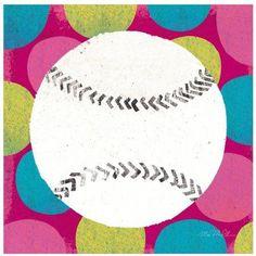 Girls Sports I by Eazl Fine Art Print, Size: 12 x 12, Multicolor
