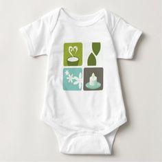 #cute #baby #bodysuits - #Designers green tea Illustration Baby Bodysuit