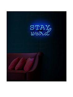 Oliver Gal Artist Co. Weird Neon Sign, Multi