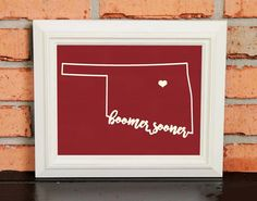 BOOMER SOONER! College Pride Wall Art - Artwork - Oklahoma Football - Sooners - Crimson and Cream - Man Cave Artwork - College Decor - UNFRAMED Poster Print - Chalkboard Finish. Looking for a fun piece of art for your dorm room, office or man cave? This is it! - BOOMER SOONER! College Pride Wall Art - OU Artwork - Oklahoma Football - Oklahoma Sooners - University of Oklahoma - Crimson and Cream - Man Cave Artwork - College Decor - UNFRAMED Poster Print - Chalkboard Finish.