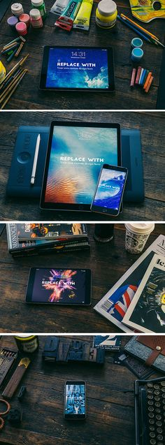 The freebie of the day is a set of 4 high quality mock-ups of various Apple devices perfect to showcase and promote...