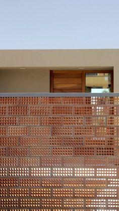 Image 9 of 18 from gallery of House for Pau & Rocio / Arnau Tiñena Architecture. Courtesy of Arnau Tiñena Detail Architecture, Brick Architecture, Architecture Images, Interior Architecture, Interior And Exterior, Classical Architecture, Ancient Architecture, Sustainable Architecture, Landscape Architecture