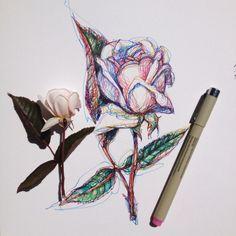 my inner world Art Sketches, Art Drawings, Badges, Scribble Art, Sad Art, Art Hoe, Pretty Art, Art Sketchbook, Art Inspo