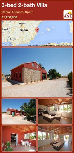 3-bed 2-bath Villa in Denia, Alicante, Spain ►€1,250,000 #PropertyForSaleInSpain