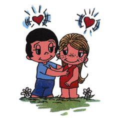 feeling each other's heartbeat