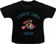 """Bordado de bebé: Camiseta original """"Triciclo"""""""