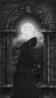 Dark Knight by Terry Fan