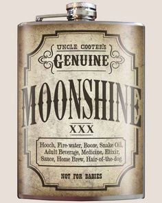 Saucy Stockings Moon Shine Alcohol Retro Vintage Metal Sign