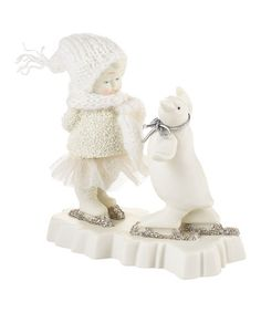 This Penguin Pirouette Figurine by Snowbabies is perfect! #zulilyfinds