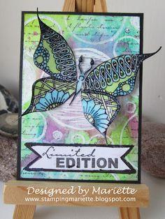 ATC Stylized butterfly