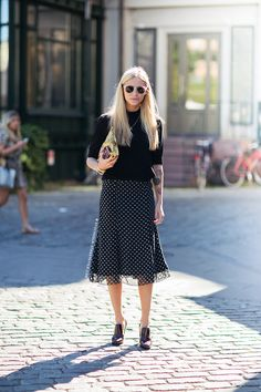 totally crushing on her style. she's awesome. Tine in Stockholm. #TheFashioneaters